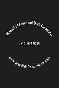 Mansfield Fence and Deck