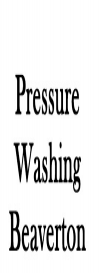 Pressure Washing Beaverton